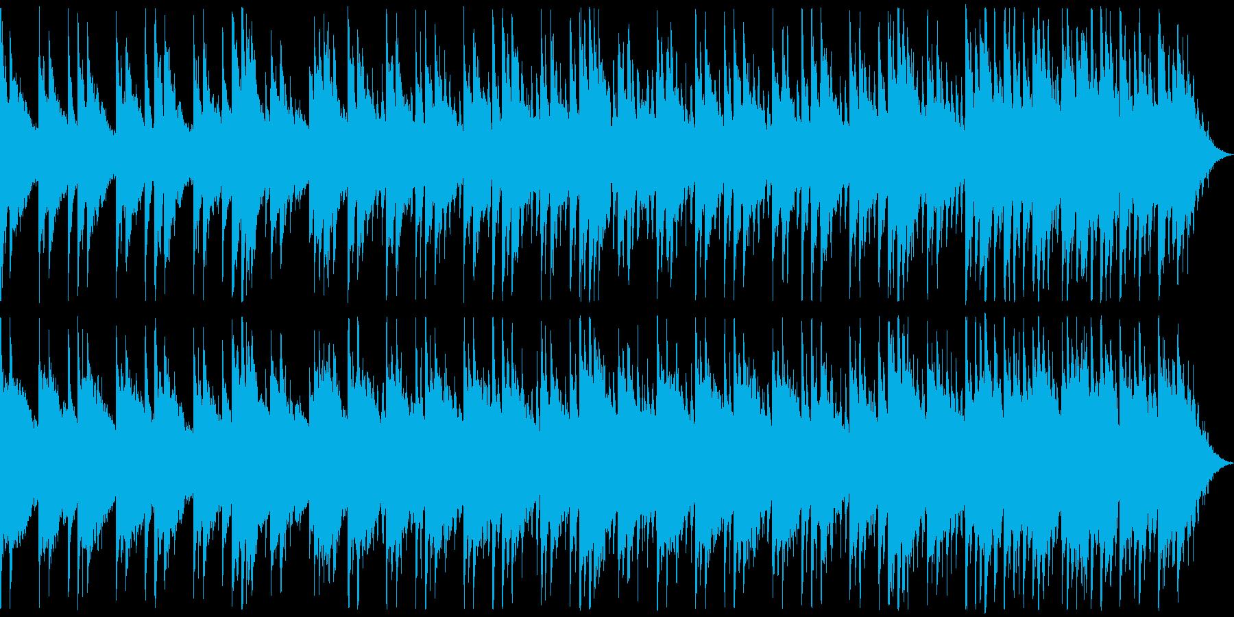森の中をイメージの再生済みの波形
