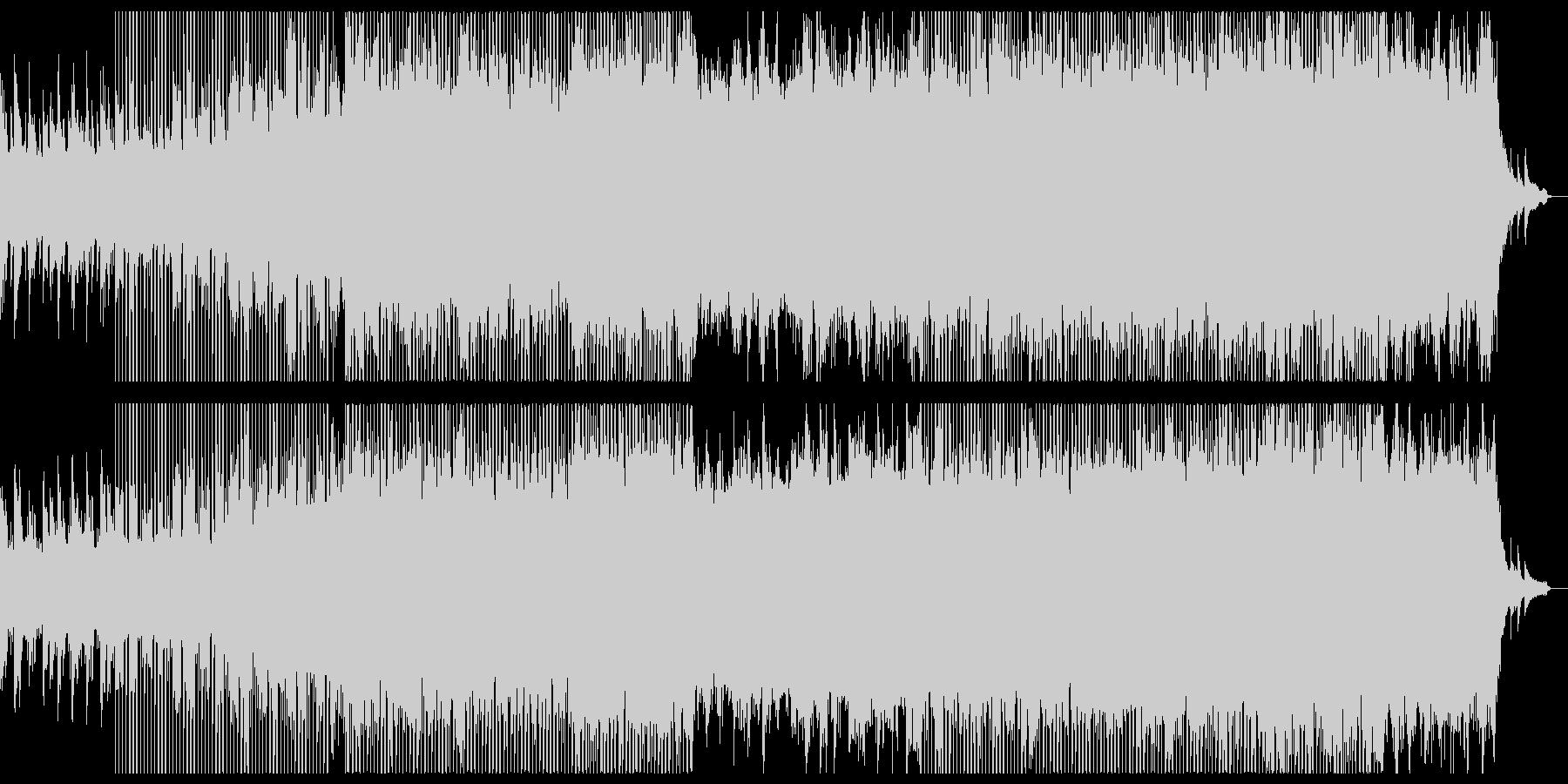 ピアノの爽やかな感動系チルアウト。の未再生の波形