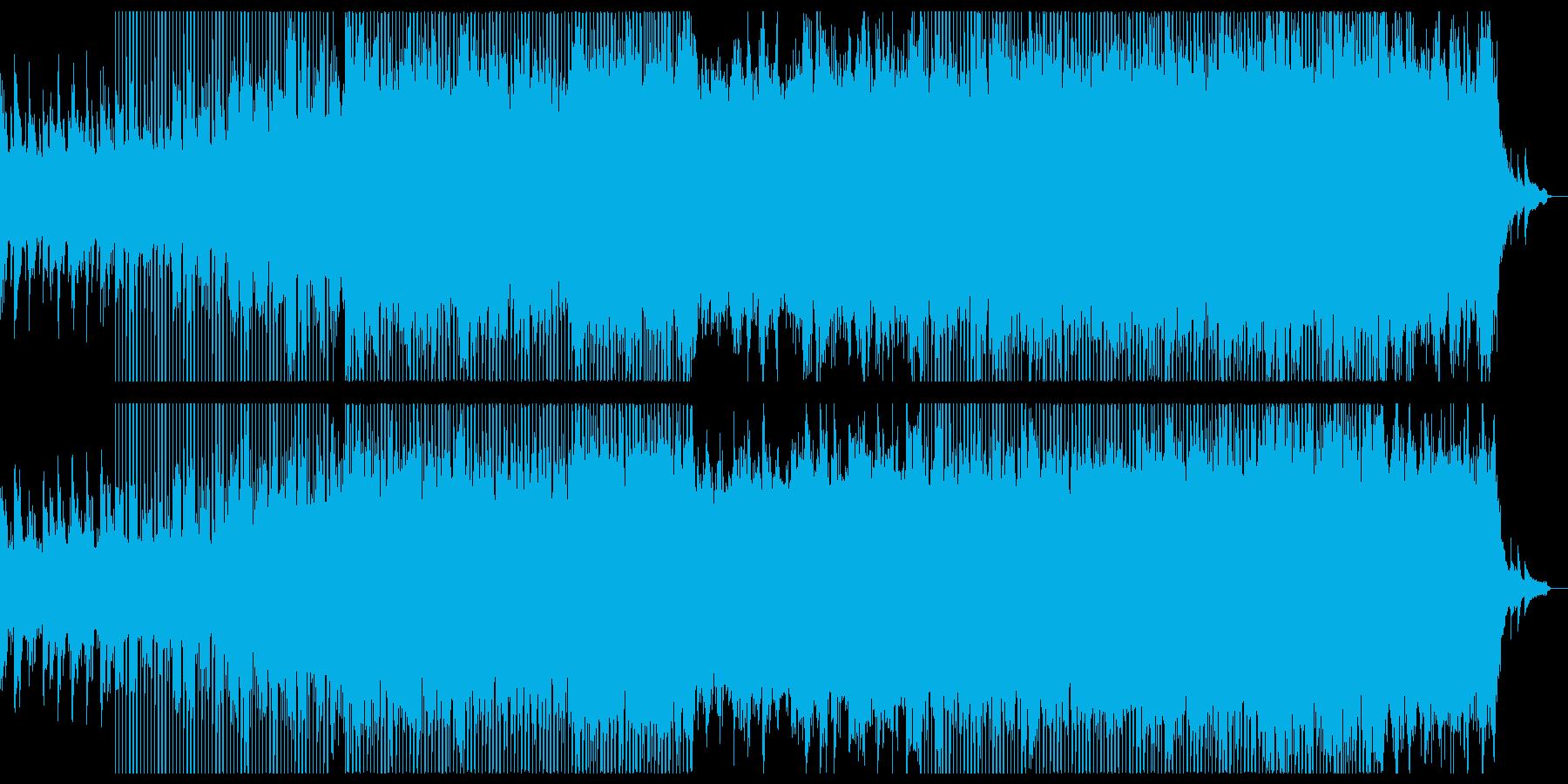 ピアノの爽やかな感動系チルアウト。の再生済みの波形