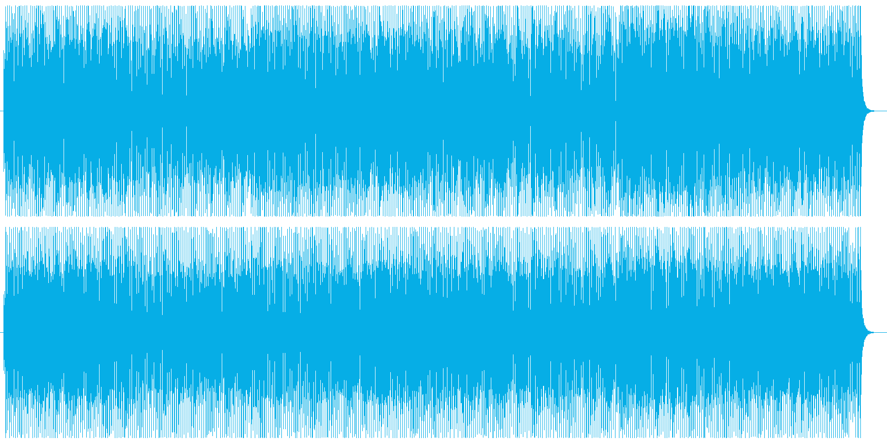 セール・イベントTVCM用の和風・正月曲の再生済みの波形