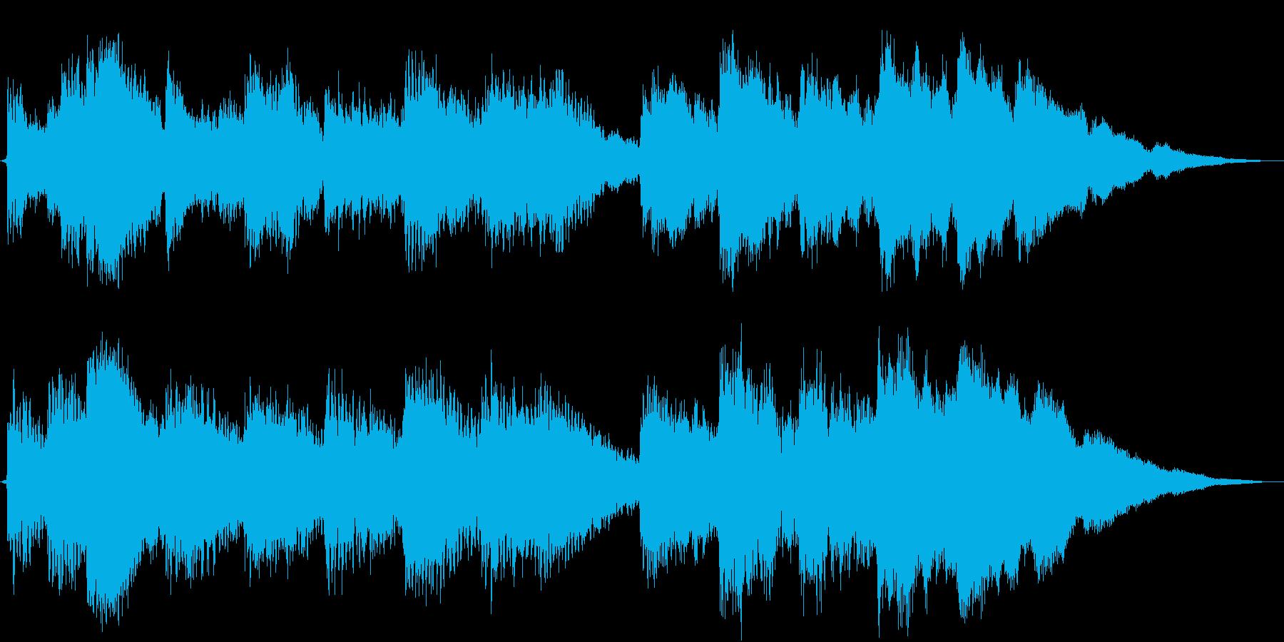 サウンドロゴ(ベル)の再生済みの波形