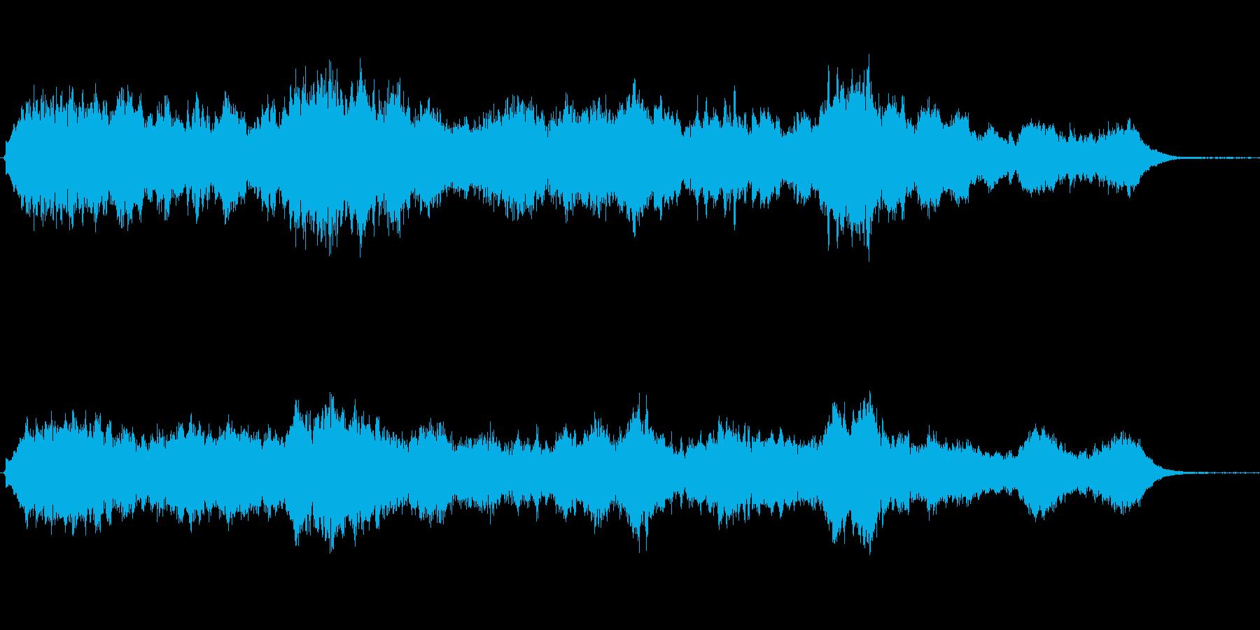 キラキラしたメルヘンチックなジングル2の再生済みの波形
