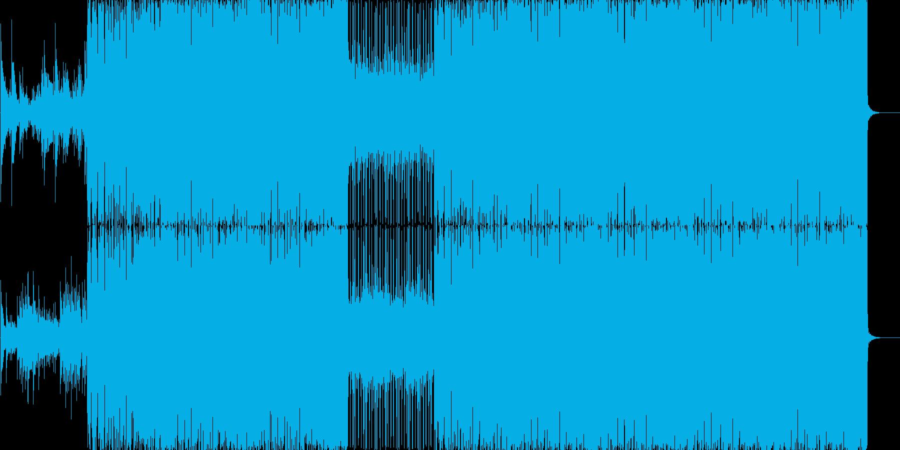 明るく期待感に溢れるロック系BGMですの再生済みの波形