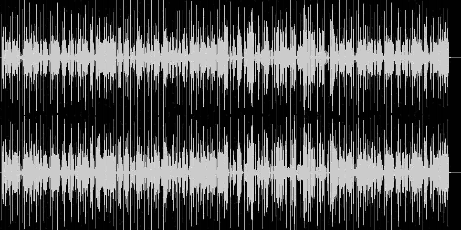 オシャレなテクノの未再生の波形