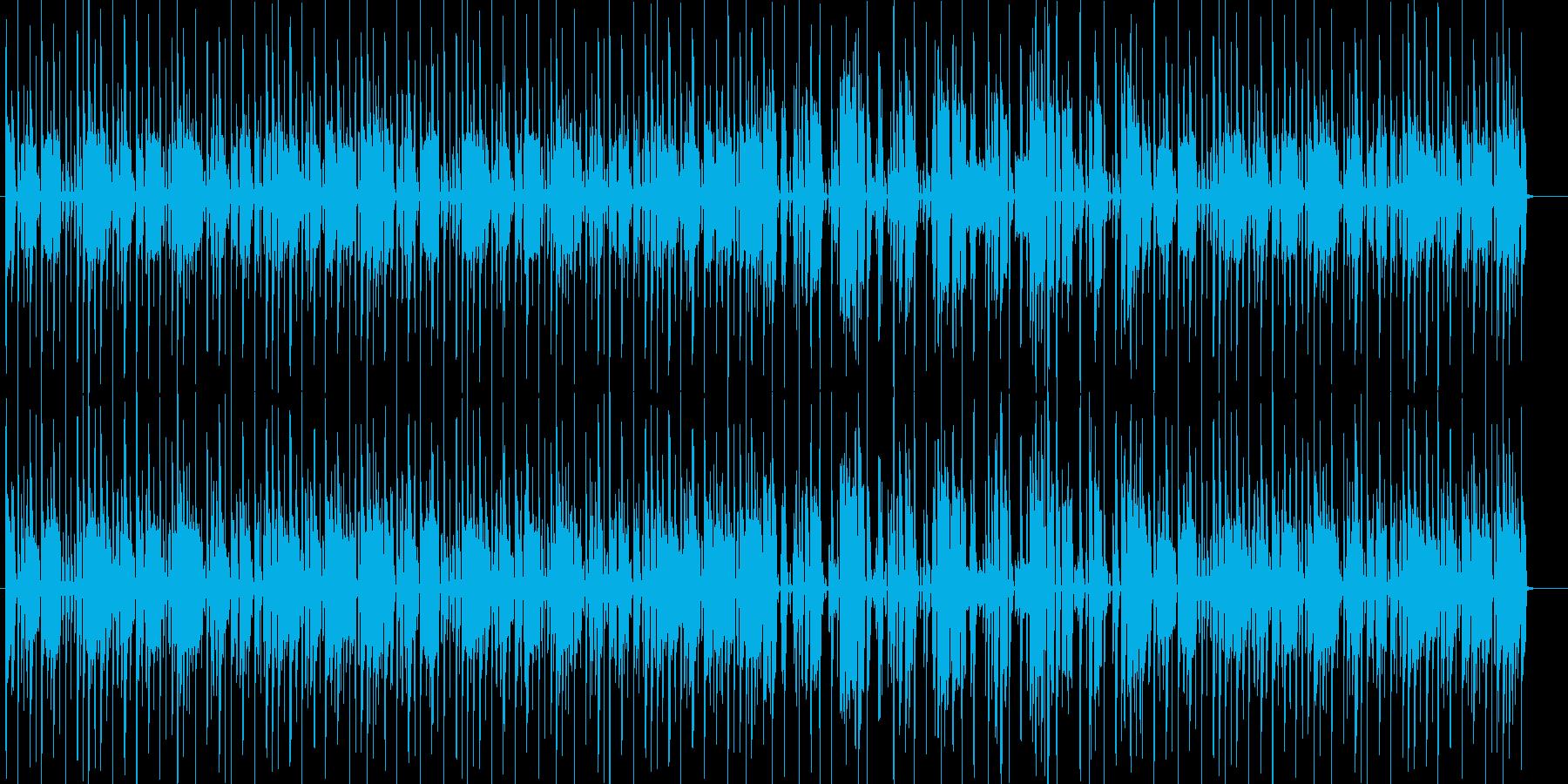 オシャレなテクノの再生済みの波形
