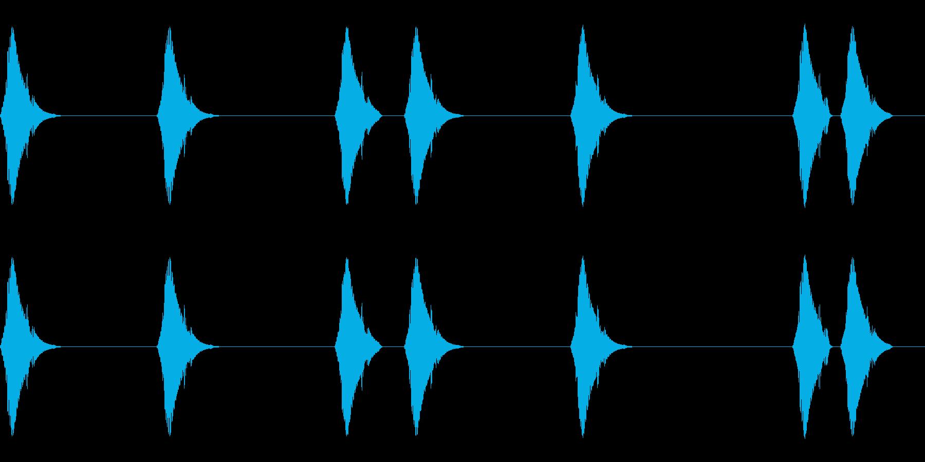 ピコピコ…(小動物/しっぽ/かわいい)の再生済みの波形