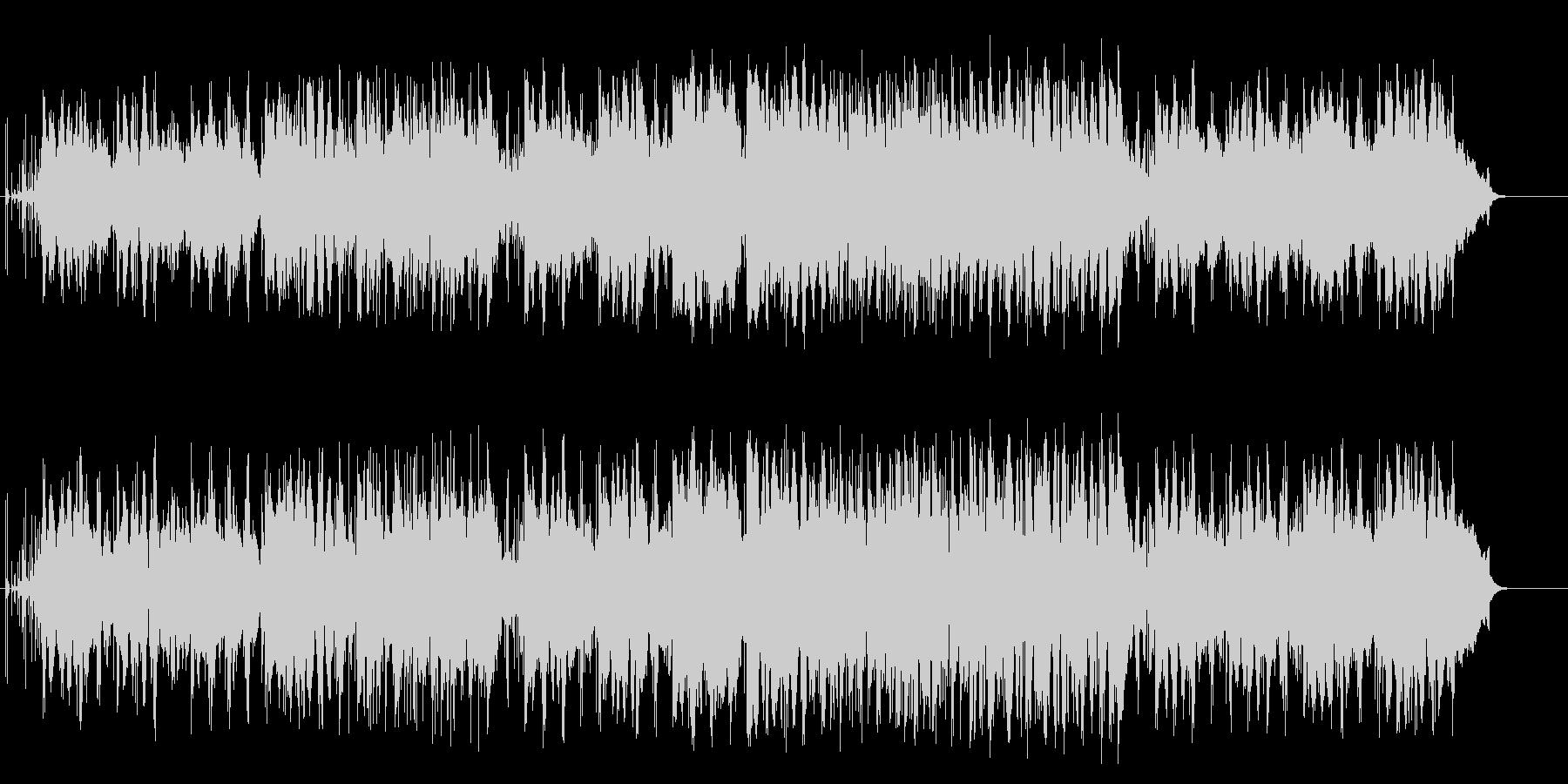 3連のノリが小粋なアダルトなフュージョンの未再生の波形