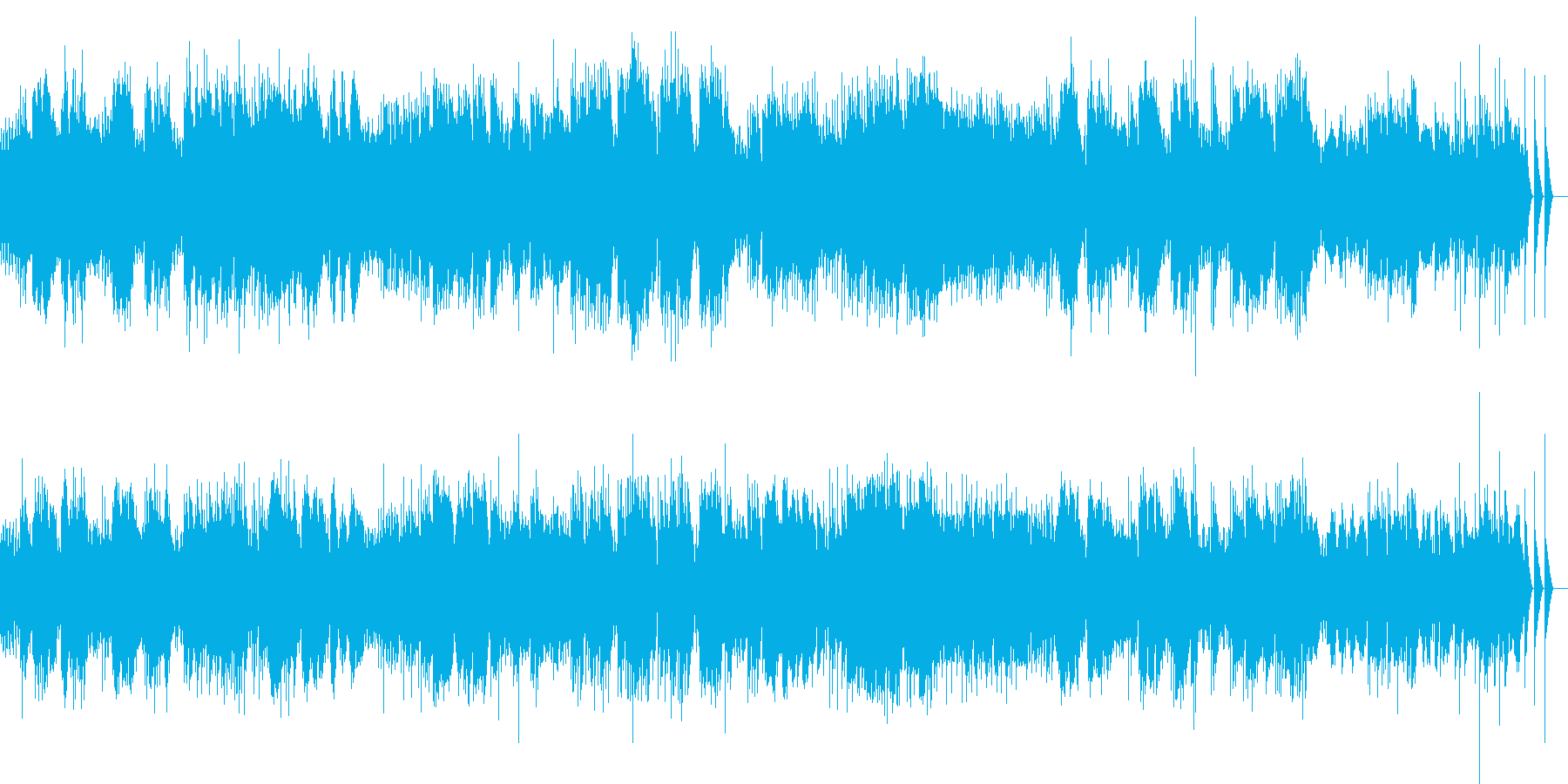 ベルガマスク組曲 パスピエ オルゴールの再生済みの波形