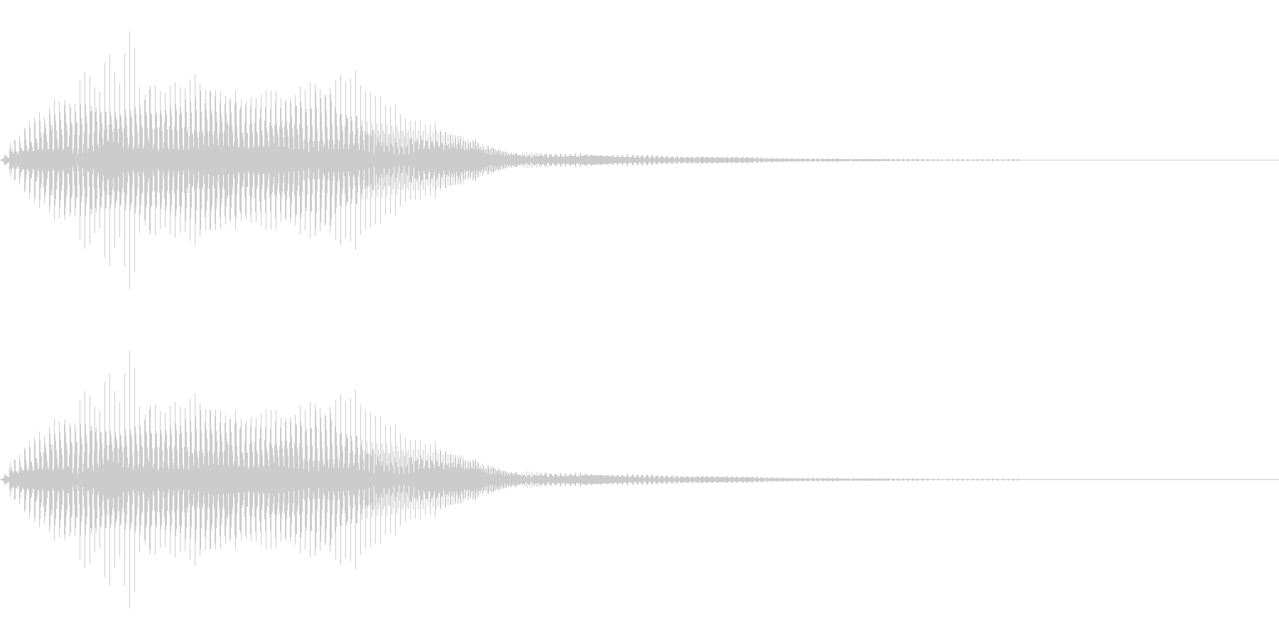 ビームソード風の効果音(SF、ロボット)の未再生の波形