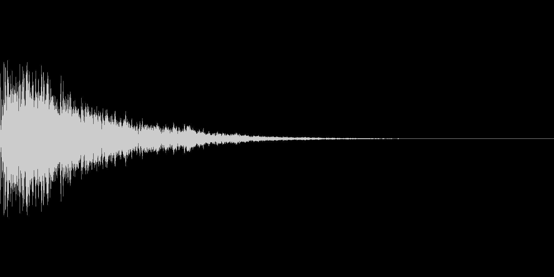 シュピーン キラーン 飛び込み 通販の未再生の波形