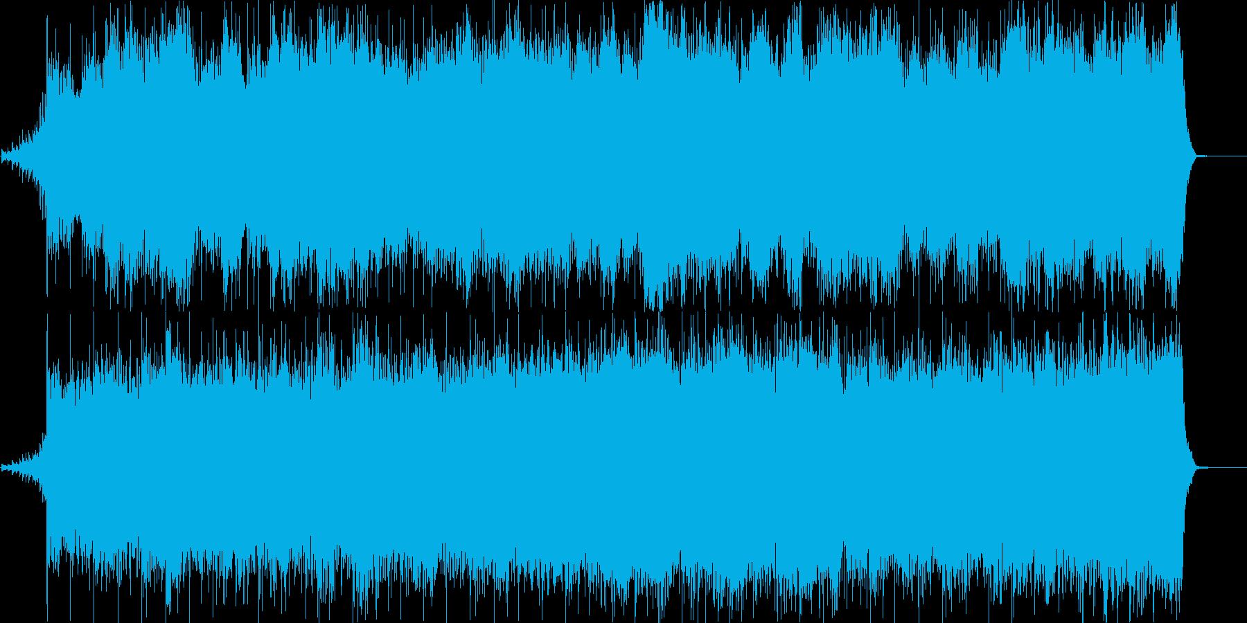 ホラー映画・ゴースト・モンスターの再生済みの波形
