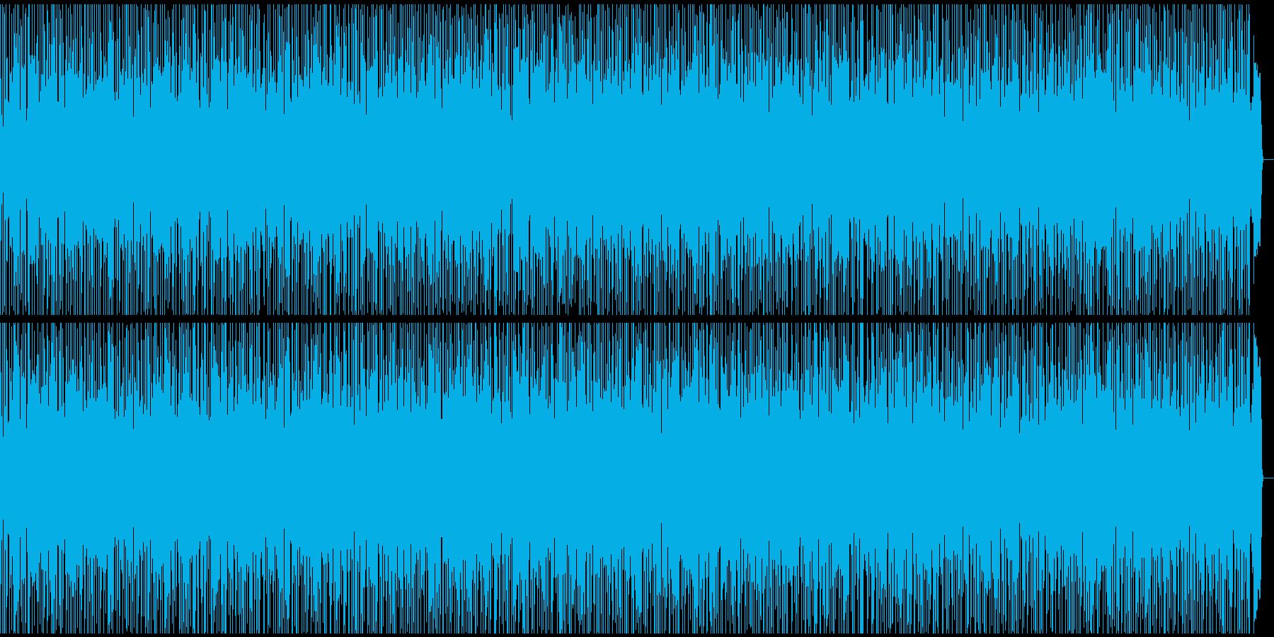 心地よく優しいバラードの再生済みの波形