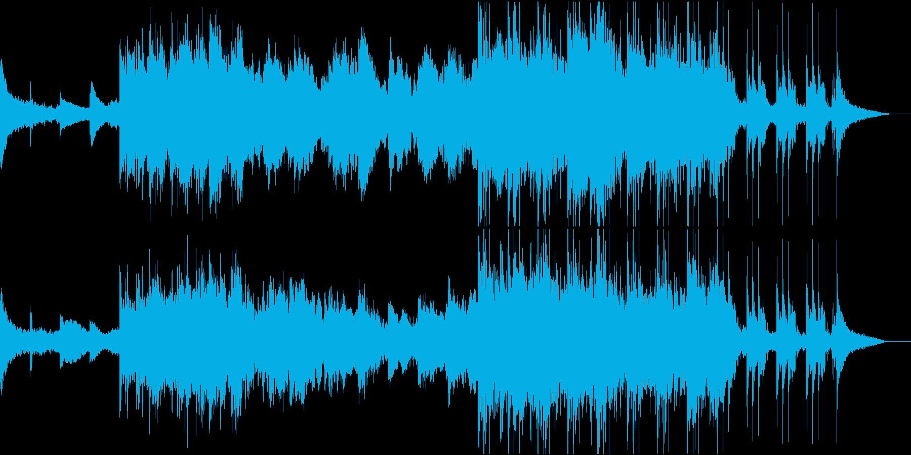アンビエント 秘密 迷宮 謎 不思議RYの再生済みの波形