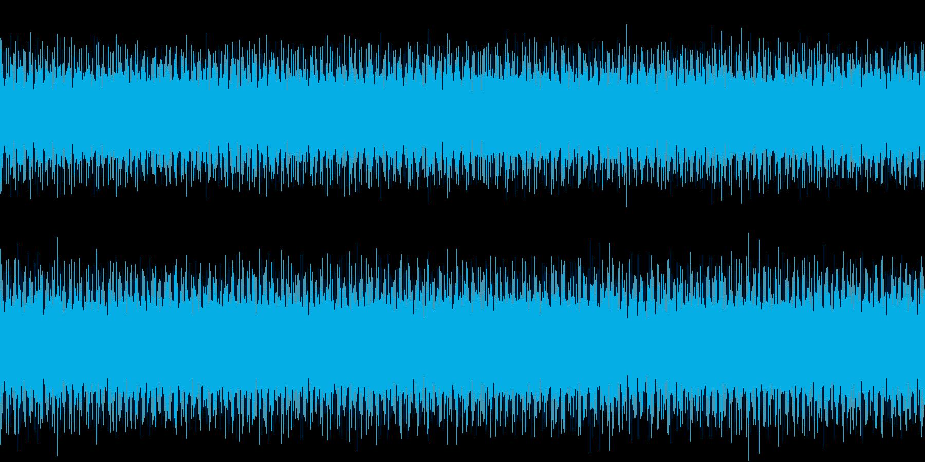 爽やかなピアノです。の再生済みの波形