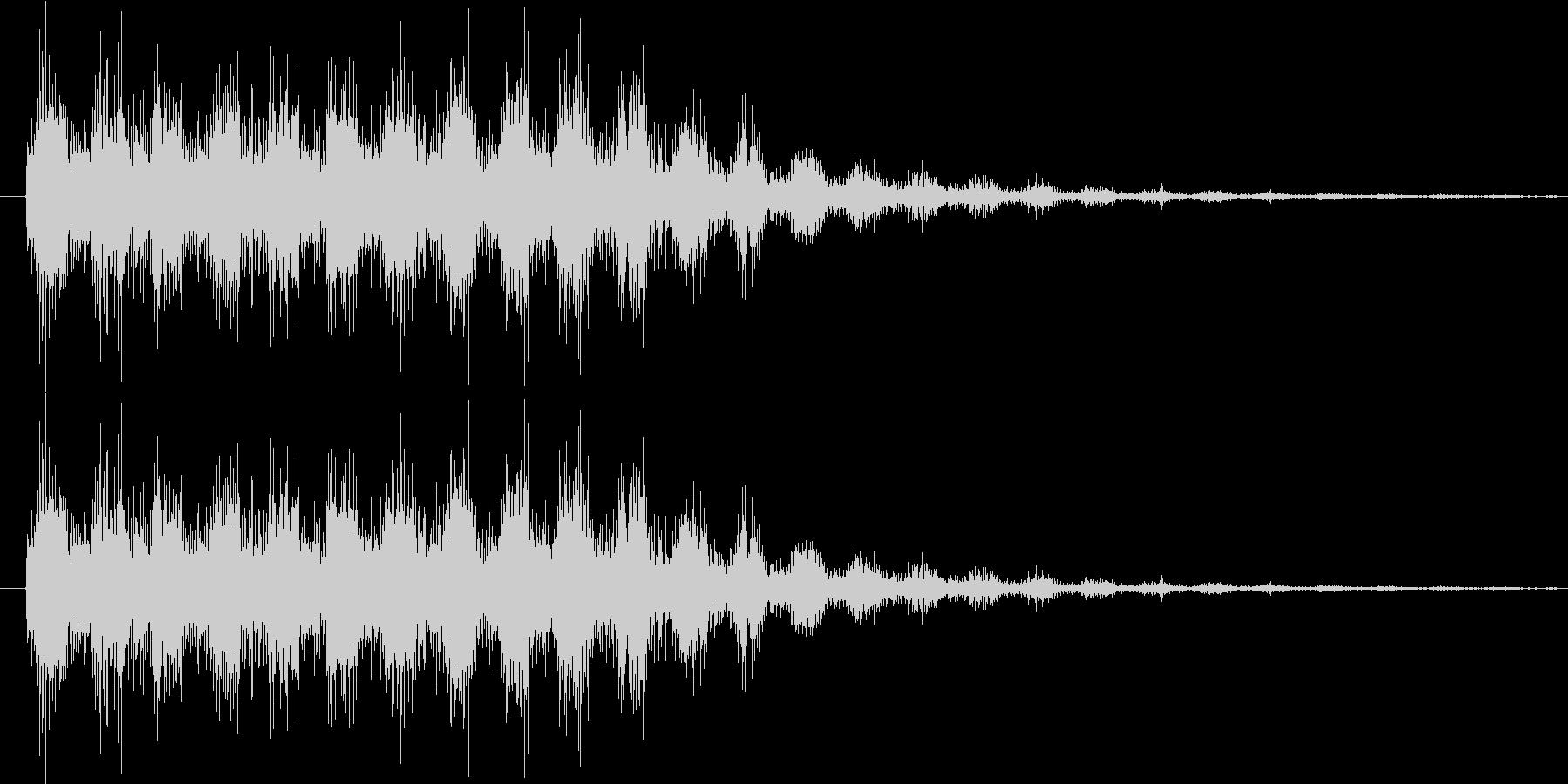 サウンドロゴ8の未再生の波形