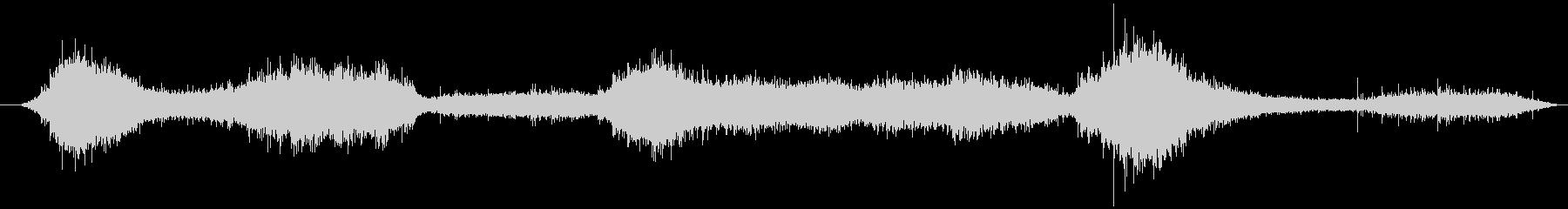 穏やかな波音(稲毛海岸)_03の未再生の波形