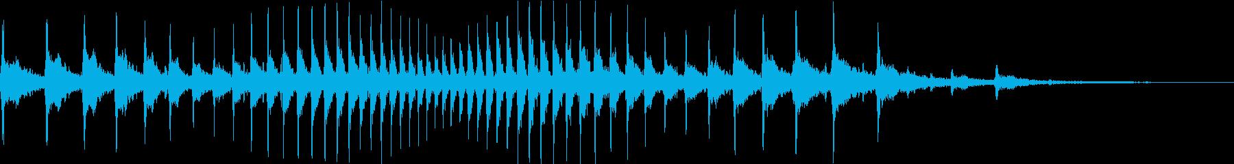 HeyHey!! 放送・動画用ボイスFXの再生済みの波形