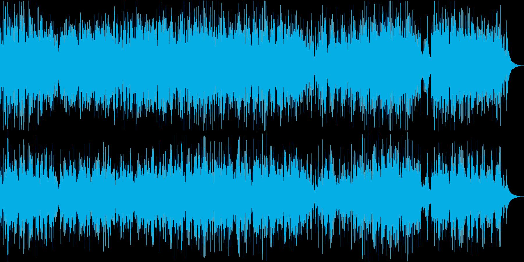 切なくも優しい、夏のピアノ曲の再生済みの波形