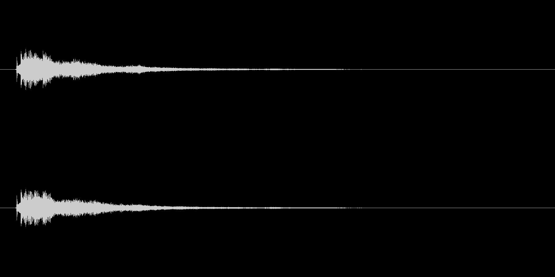 【ショートブリッジ15-3】の未再生の波形