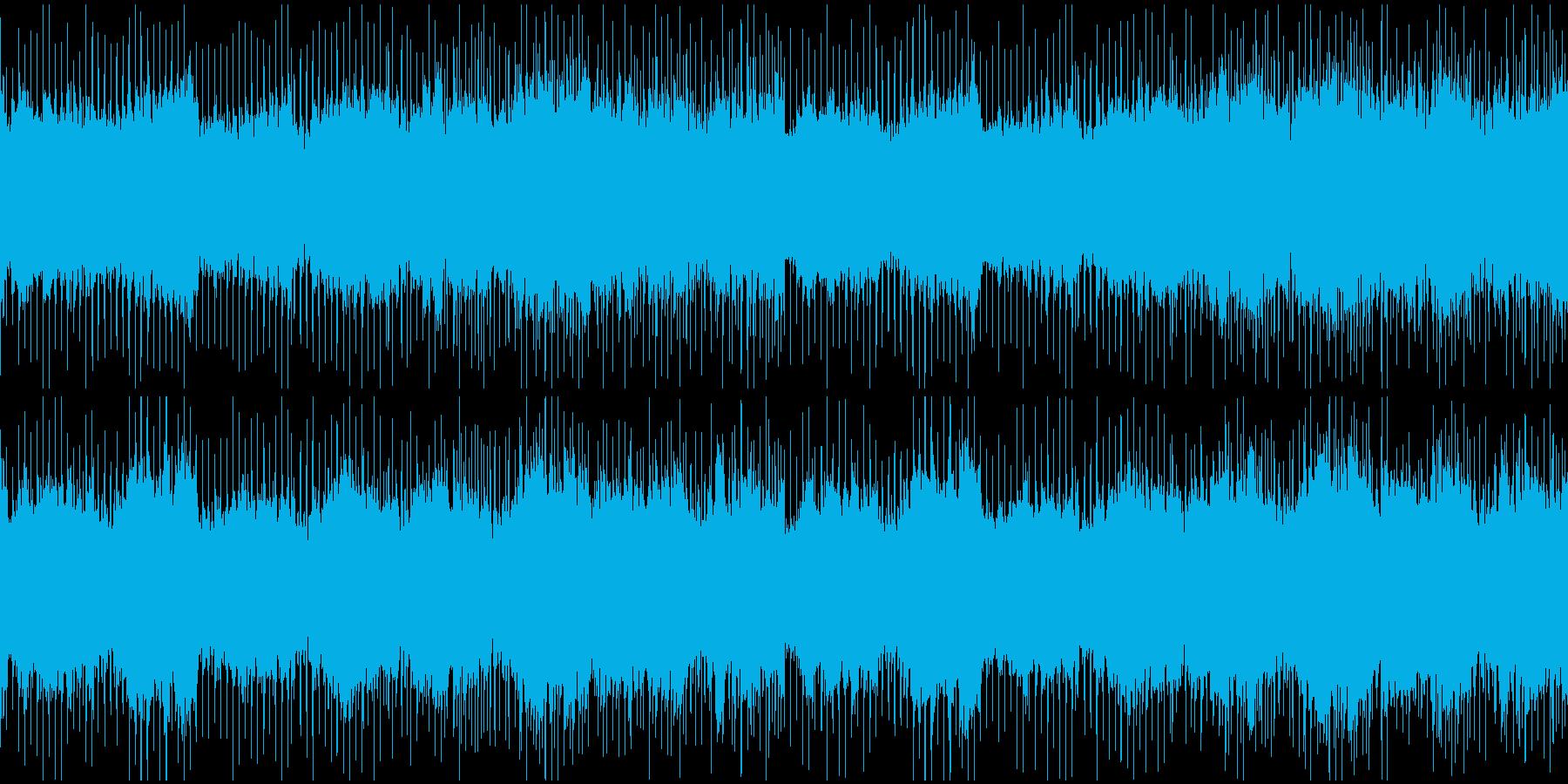 グロッケンを入れた切なげなBGMの再生済みの波形