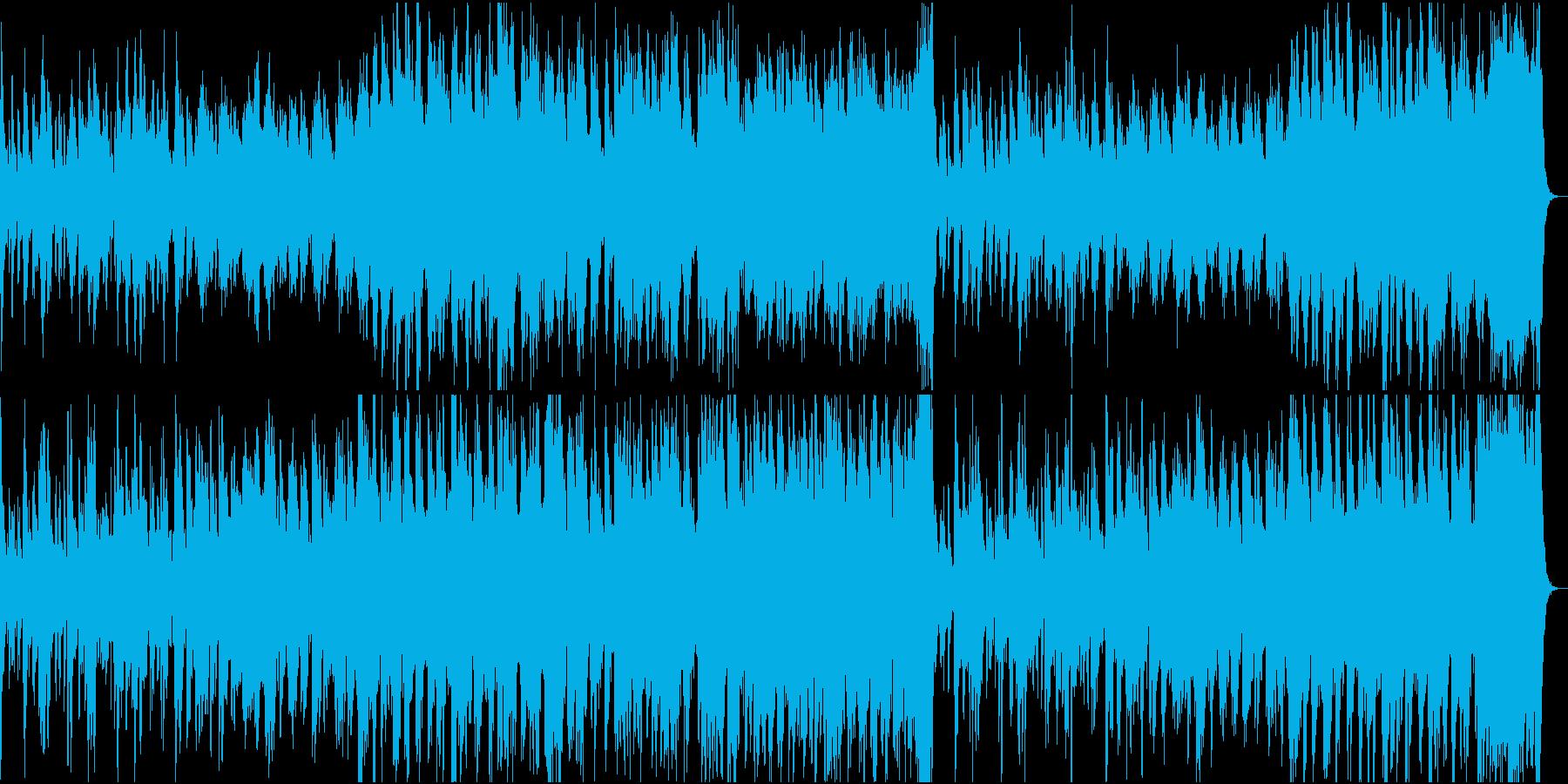 異国情緒・エキゾチックなオーケストラの再生済みの波形