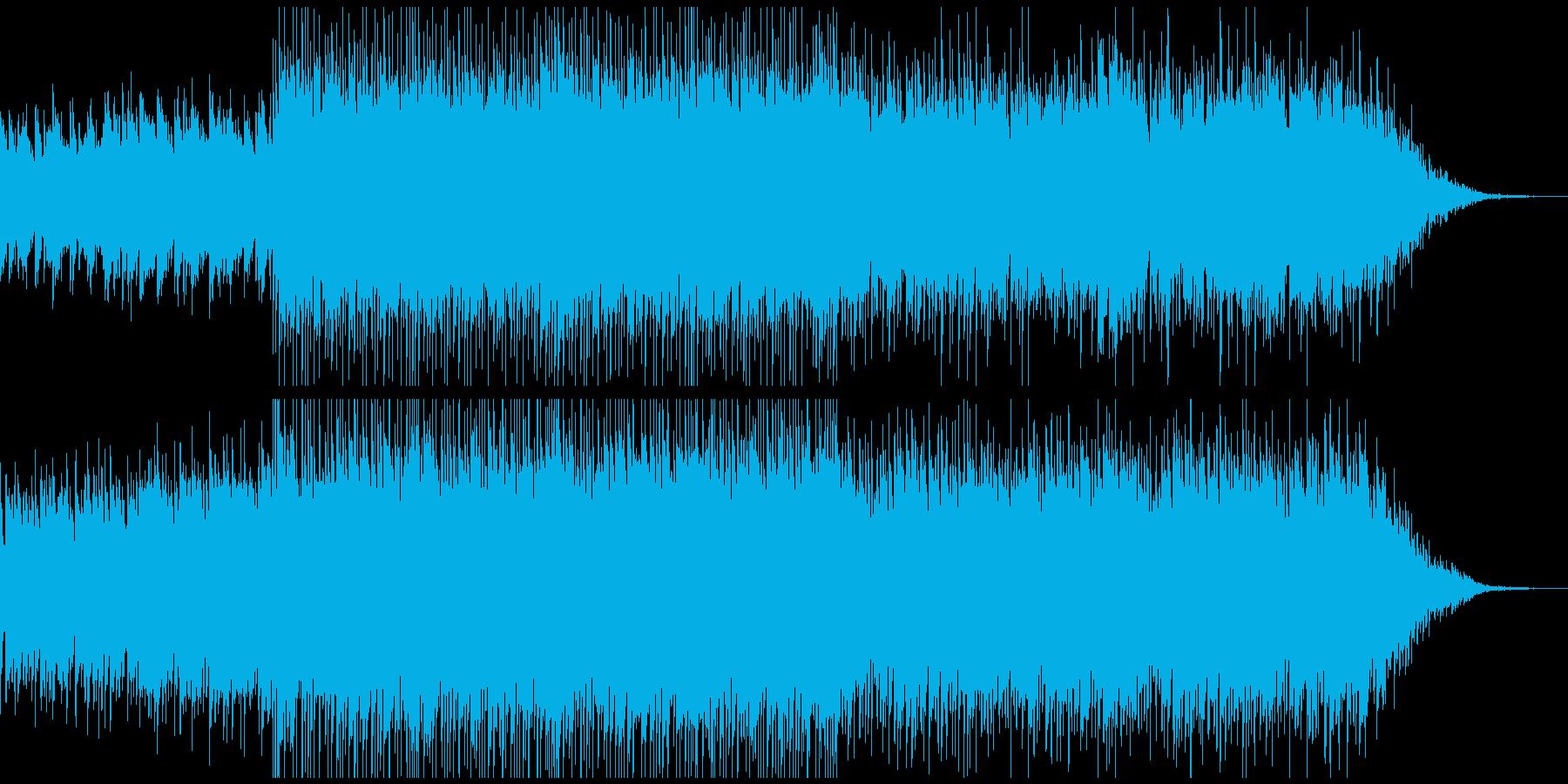 ピアノがきらきら綺麗なBGM2−2の再生済みの波形