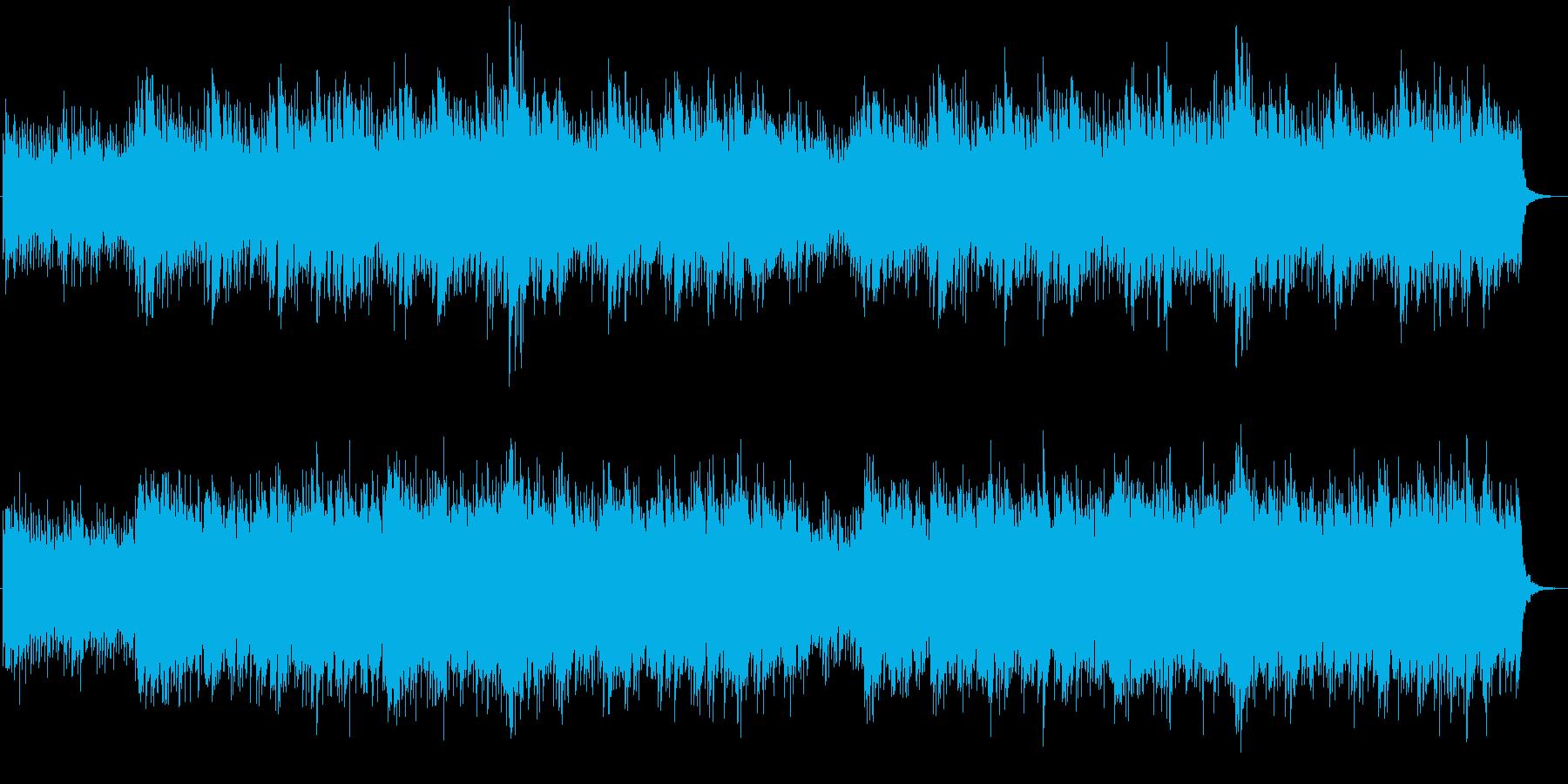 古代日本のイメージの和風幻想曲の再生済みの波形