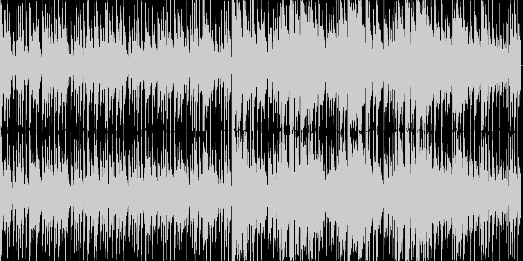 カフェにようこそ JAZZピアノの未再生の波形