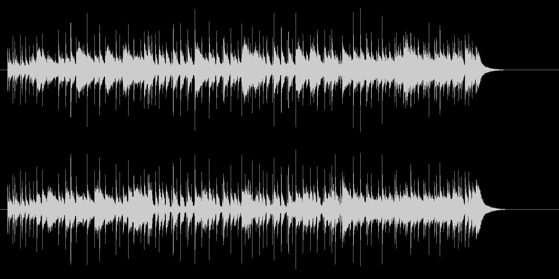 ポップなプログレの未再生の波形