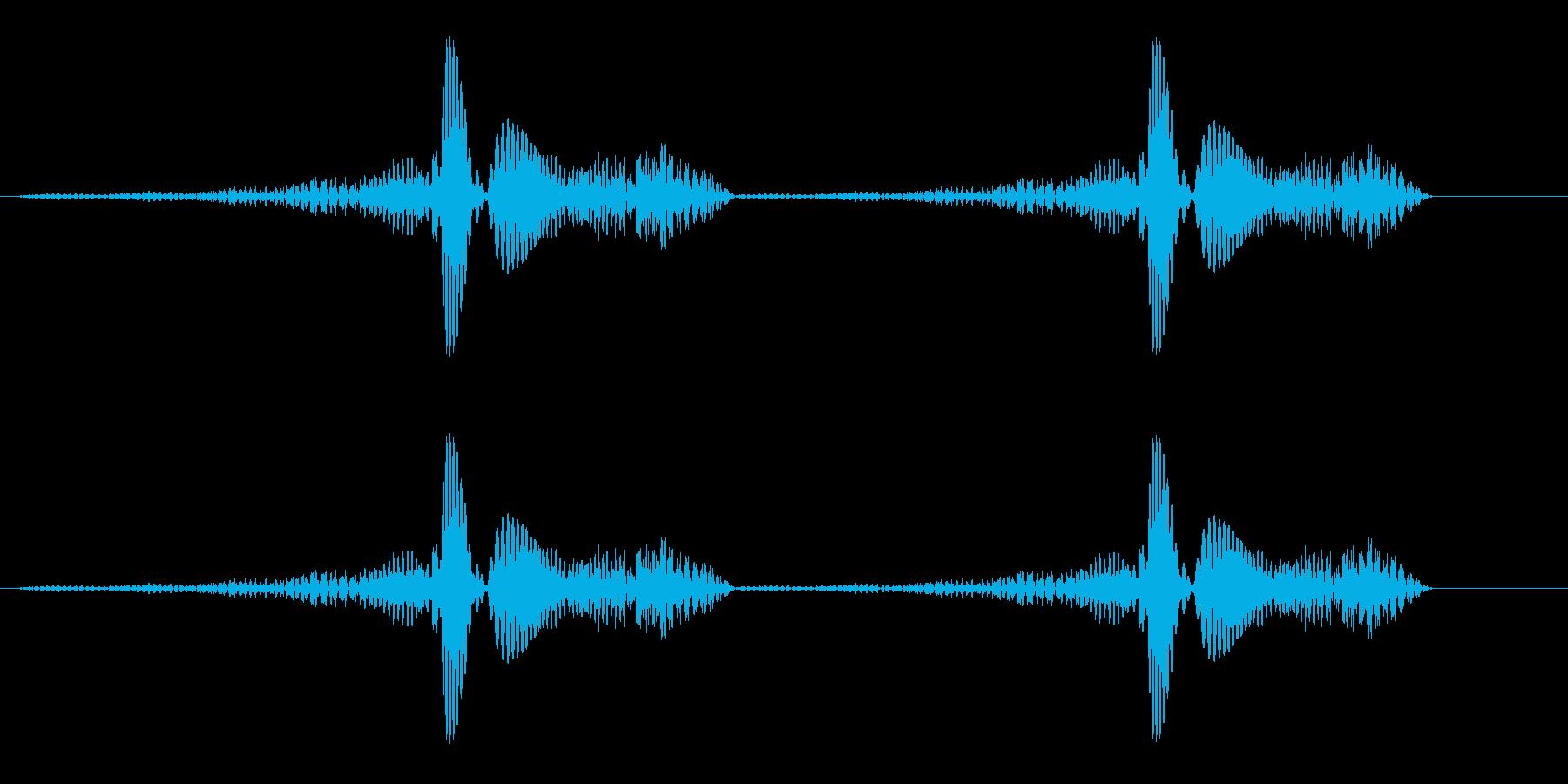 ブミョンブミョン パワーアップ時シンセ音の再生済みの波形