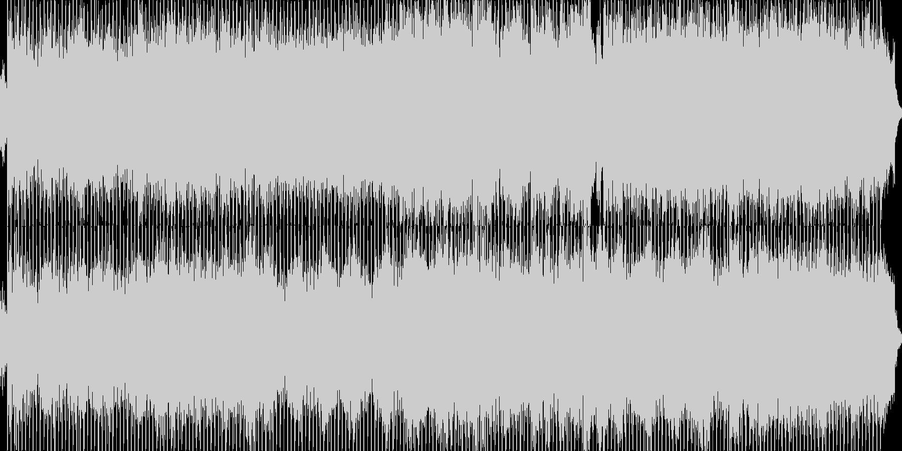 別れの曲/ポップアレンジの未再生の波形