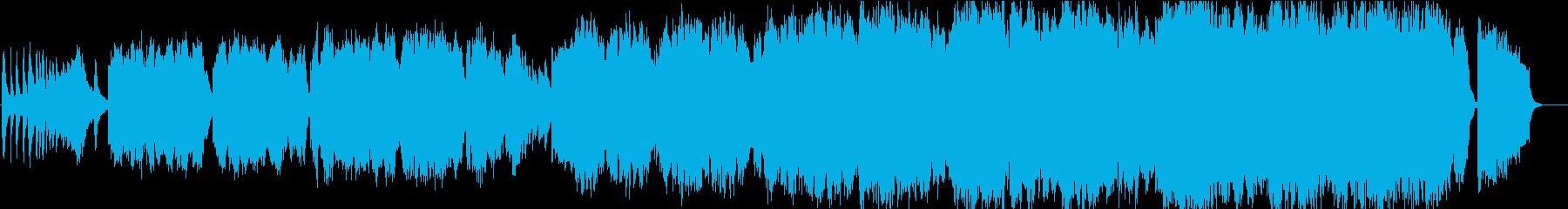 二胡の生演奏が美しい情緒ある和のメロディの再生済みの波形