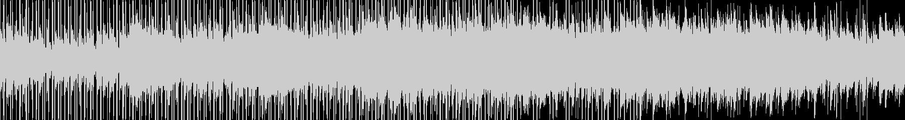 綺麗で感動的なクリーンBGM_LOOPの未再生の波形