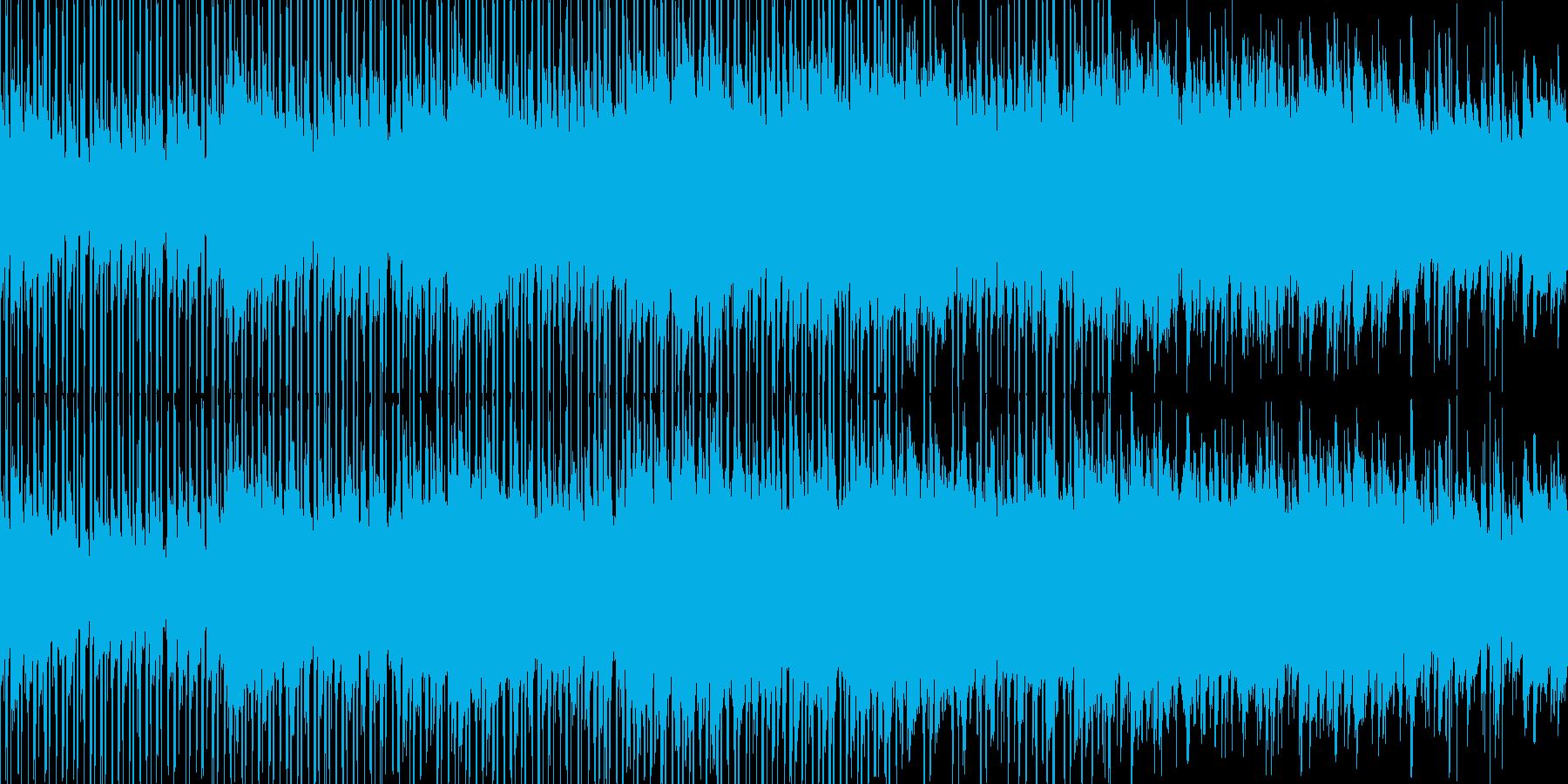 綺麗で感動的なクリーンBGM_LOOPの再生済みの波形