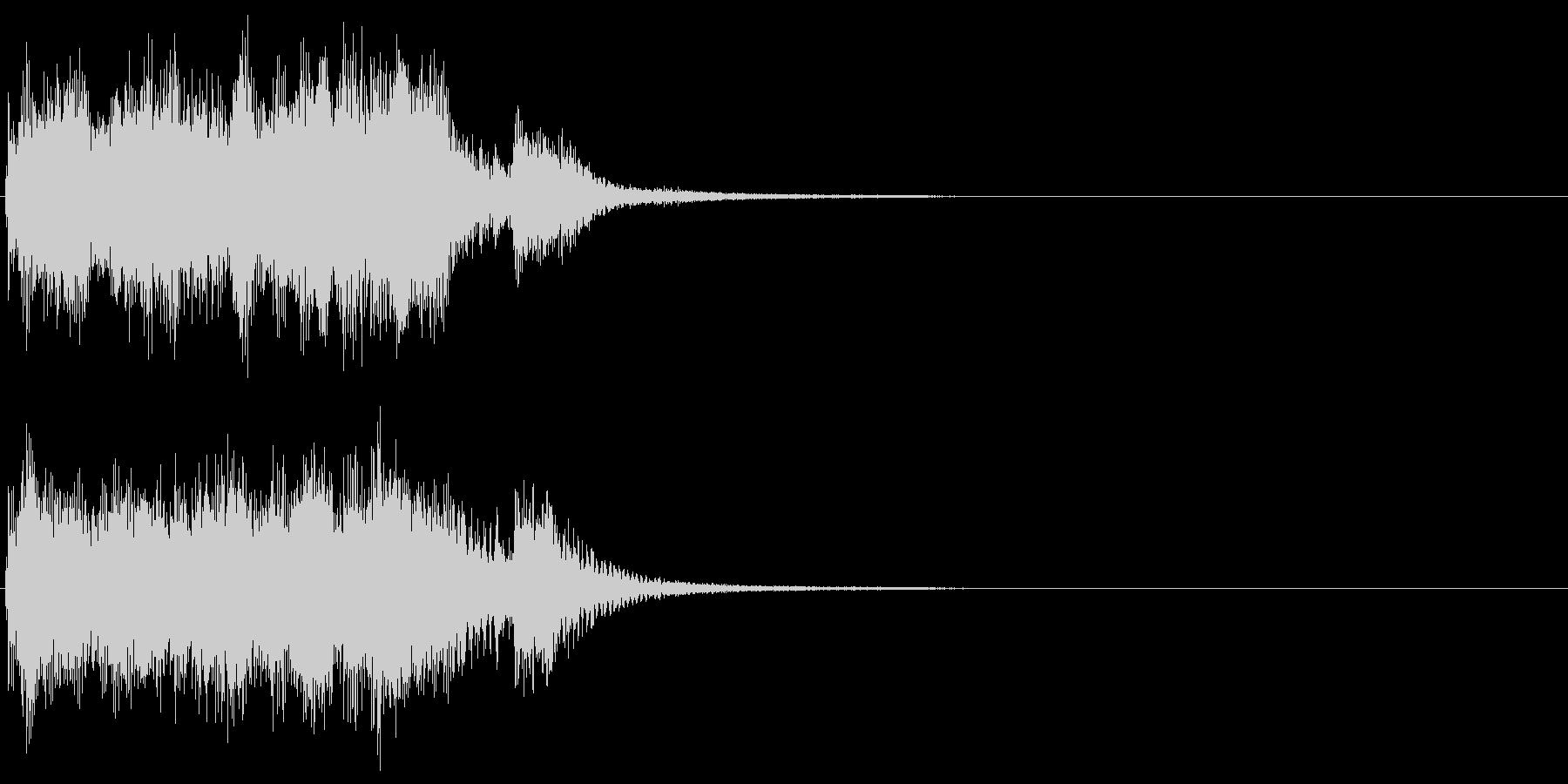 ジャッジメント 判定3:ノーマルの未再生の波形