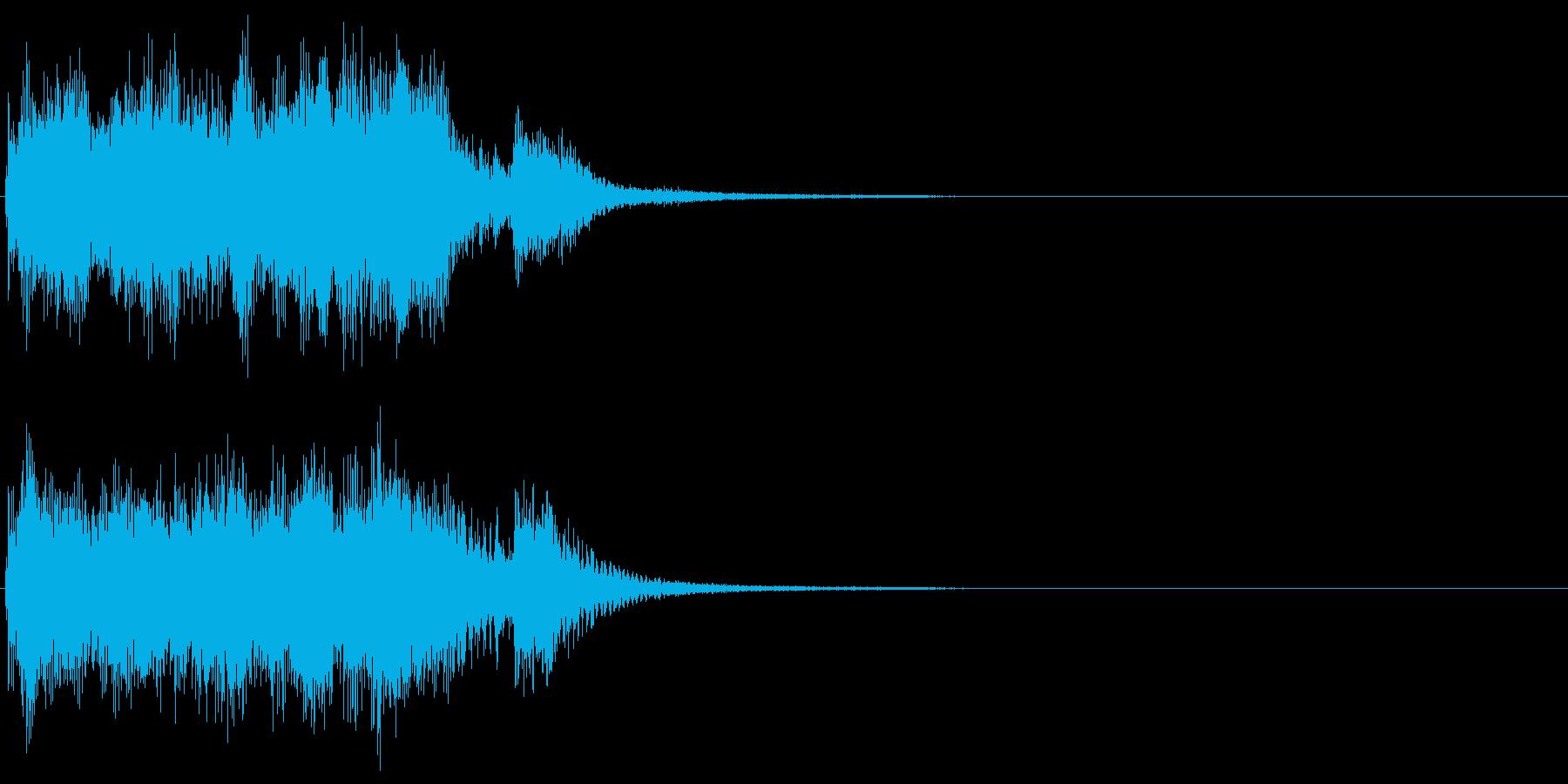 ジャッジメント 判定3:ノーマルの再生済みの波形