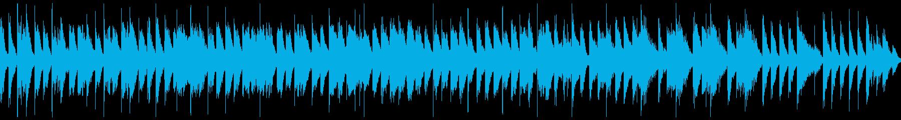 【ループ再生】かわいい・楽しい・BGMの再生済みの波形
