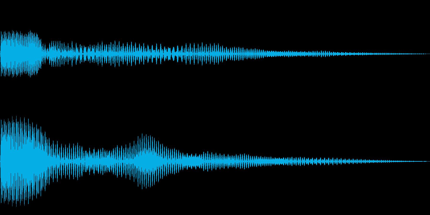 プン(01_クリック_02)の再生済みの波形