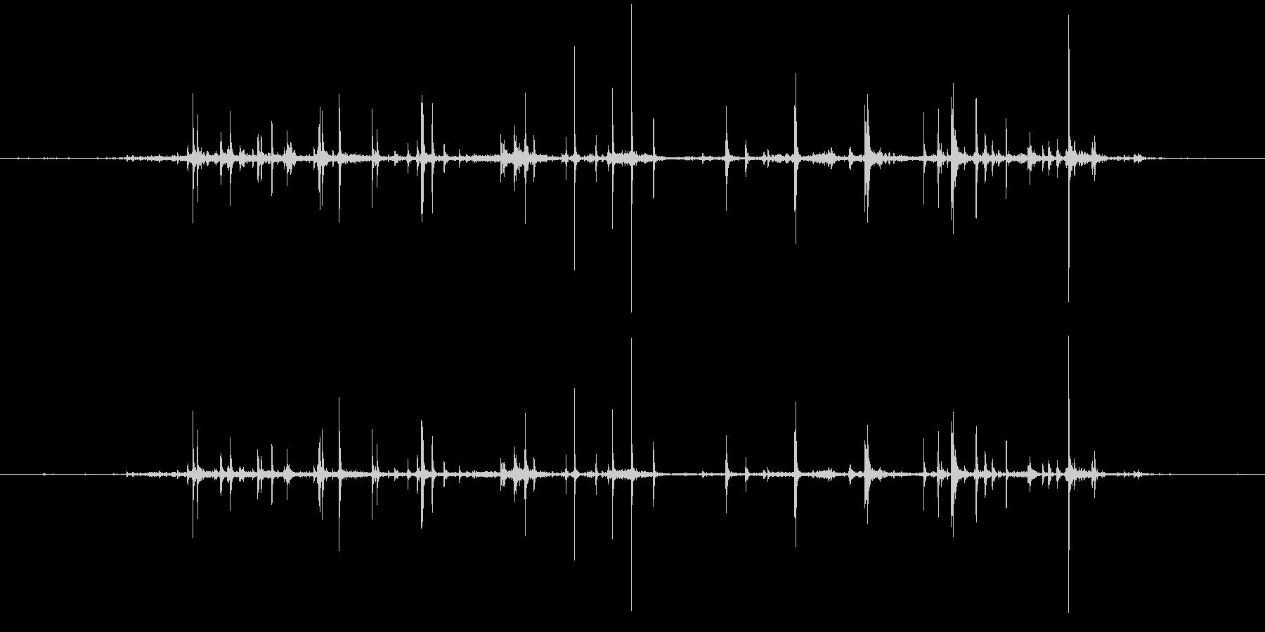 紙 カサコソ2の未再生の波形