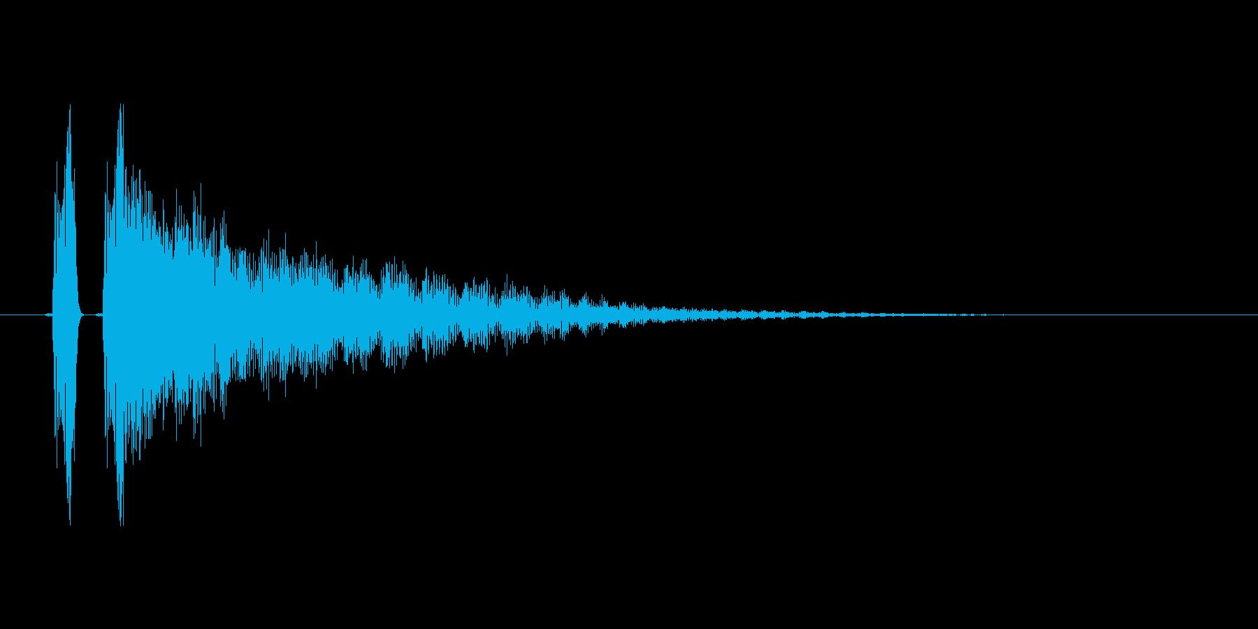 アイテムゲット音、完了音。の再生済みの波形