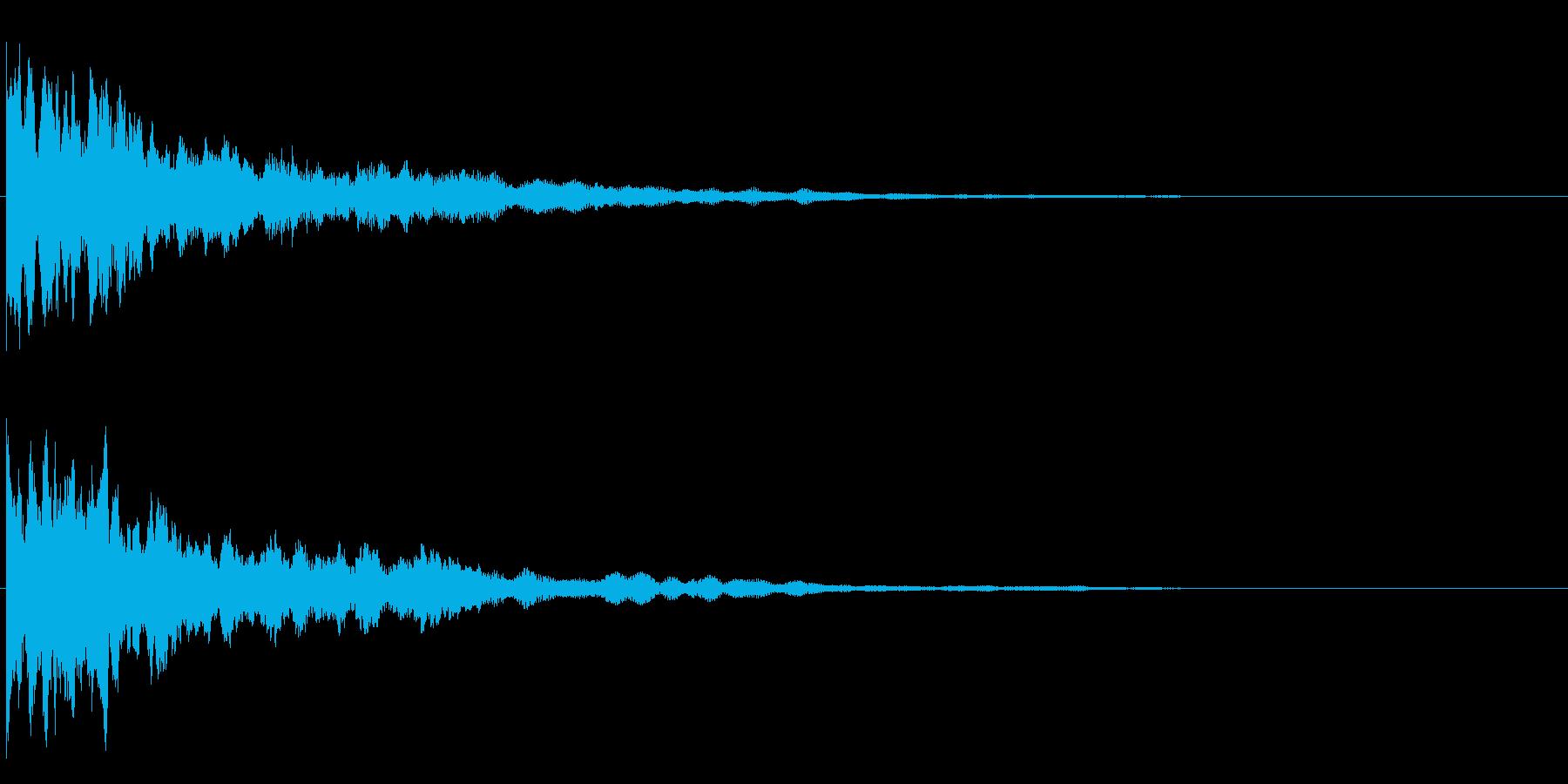 ティロ~ンの再生済みの波形