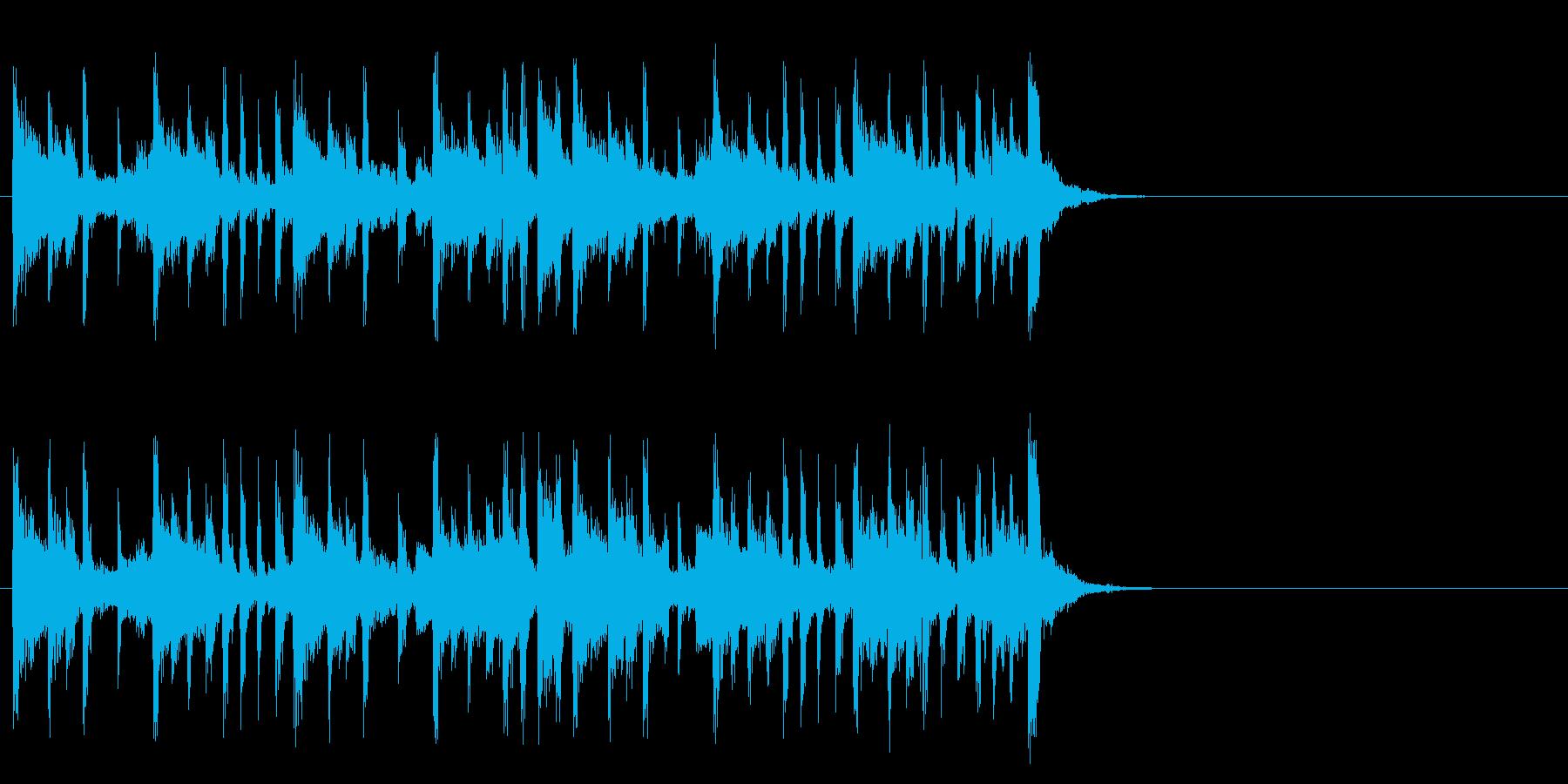 心も弾む爽やかなポップ(イントロ)の再生済みの波形