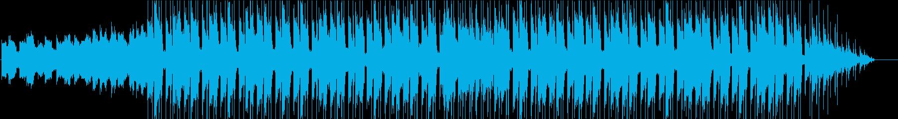 SFっぽいエレクトロニカの再生済みの波形