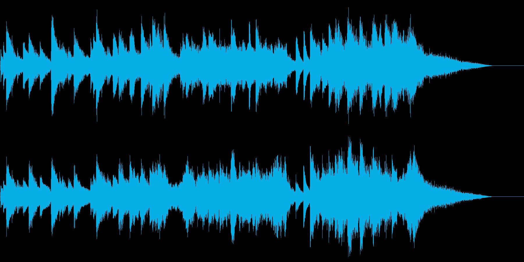 子どもの誕生日を祝ったピアノ曲2の再生済みの波形