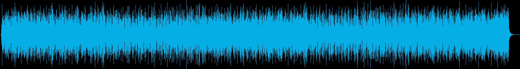 リズミカルでとても楽しいポップスの再生済みの波形