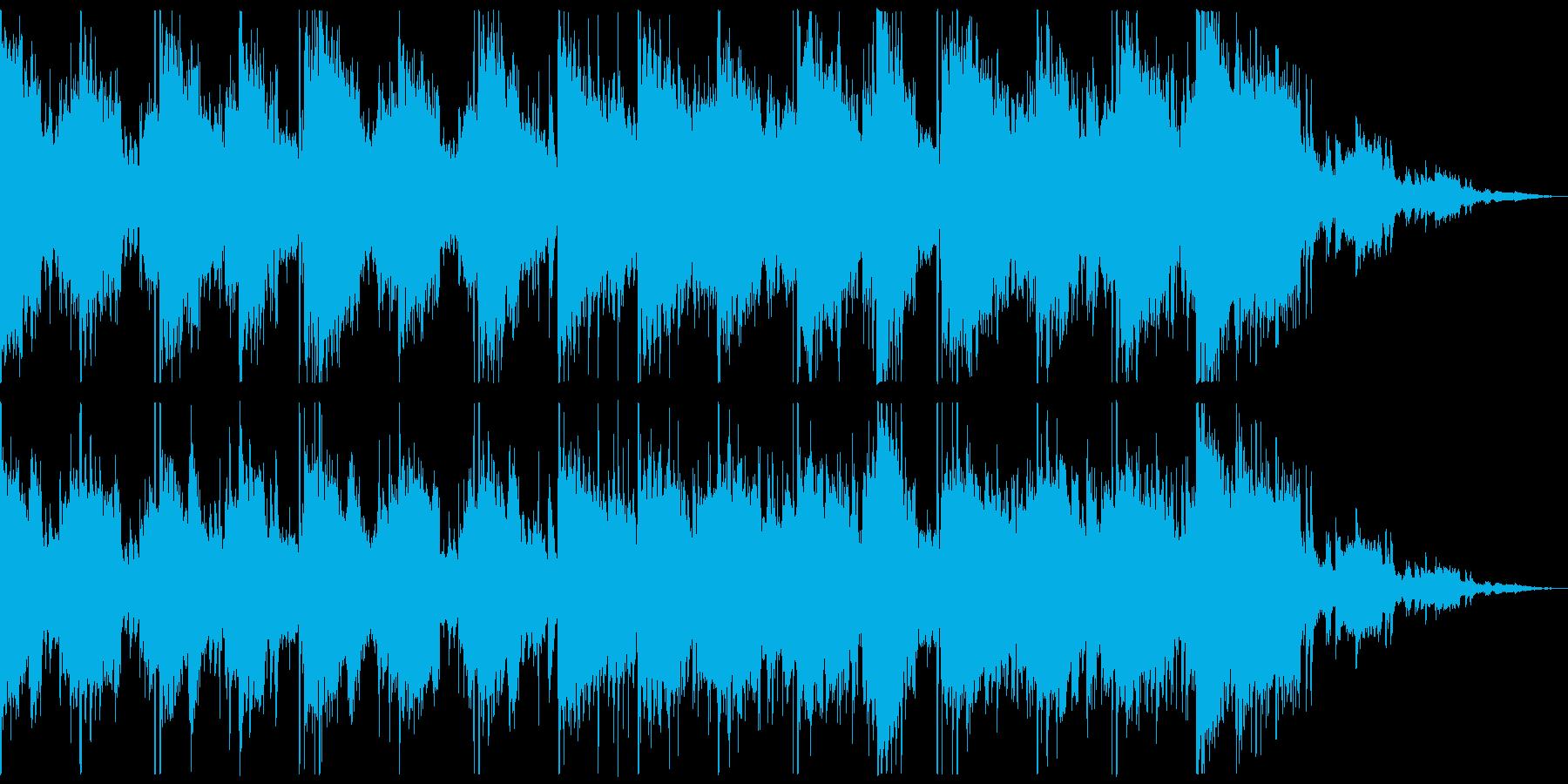 推理や探偵を連想させる曲の再生済みの波形