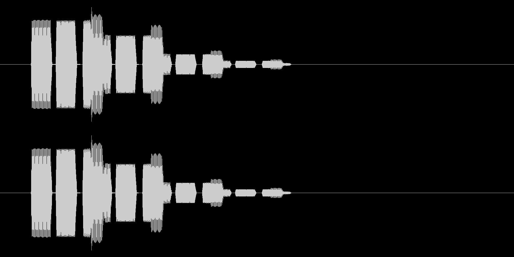 SNES シューティング02-15(選択の未再生の波形