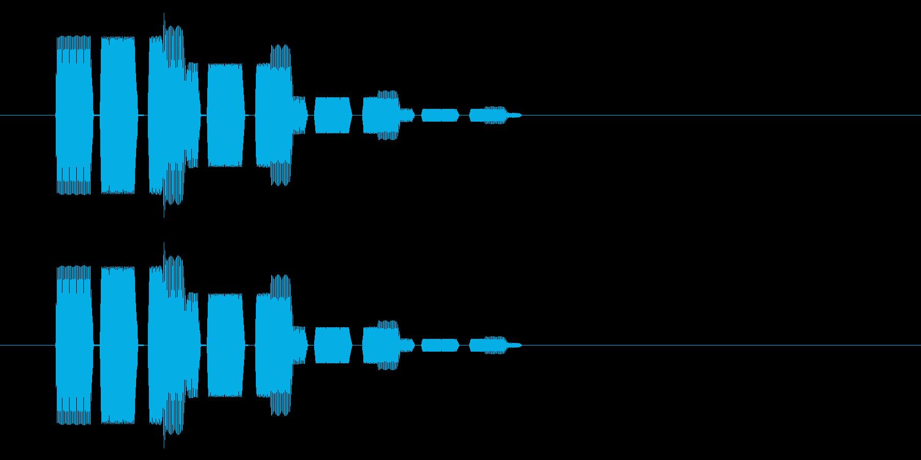 SNES シューティング02-15(選択の再生済みの波形