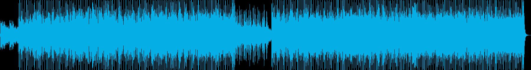 おしゃれなピアノ・シンセなどポップの再生済みの波形