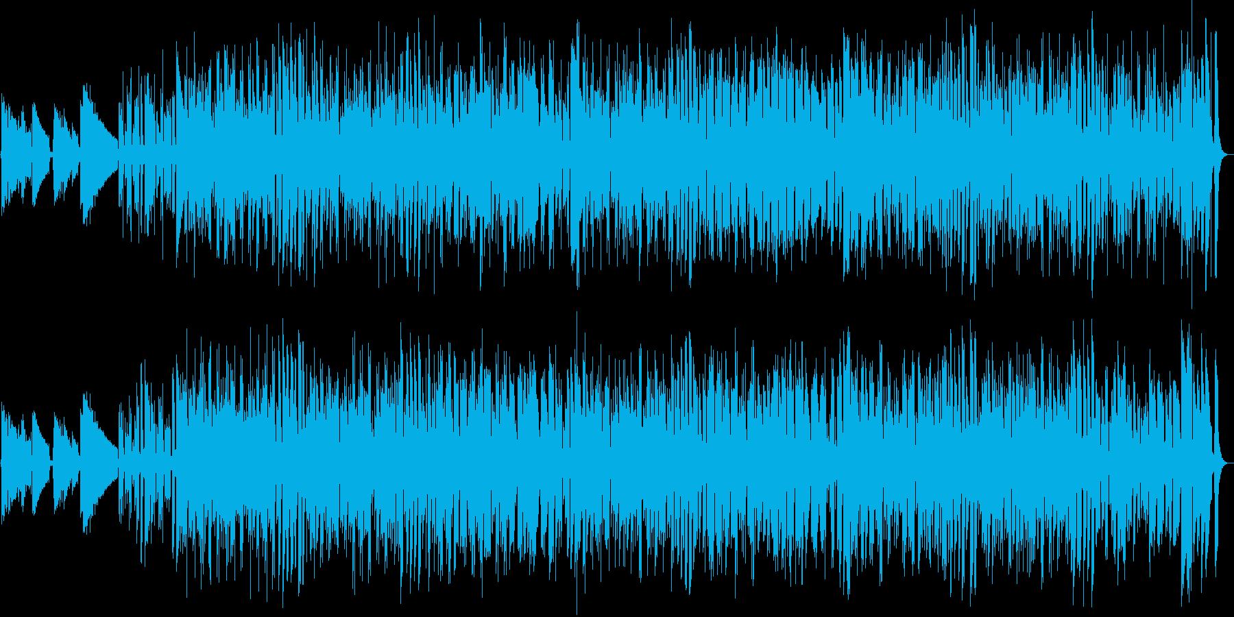 楽しく陽気なギターポップスの再生済みの波形